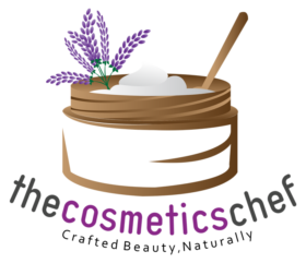 The cosmetics chef logo
