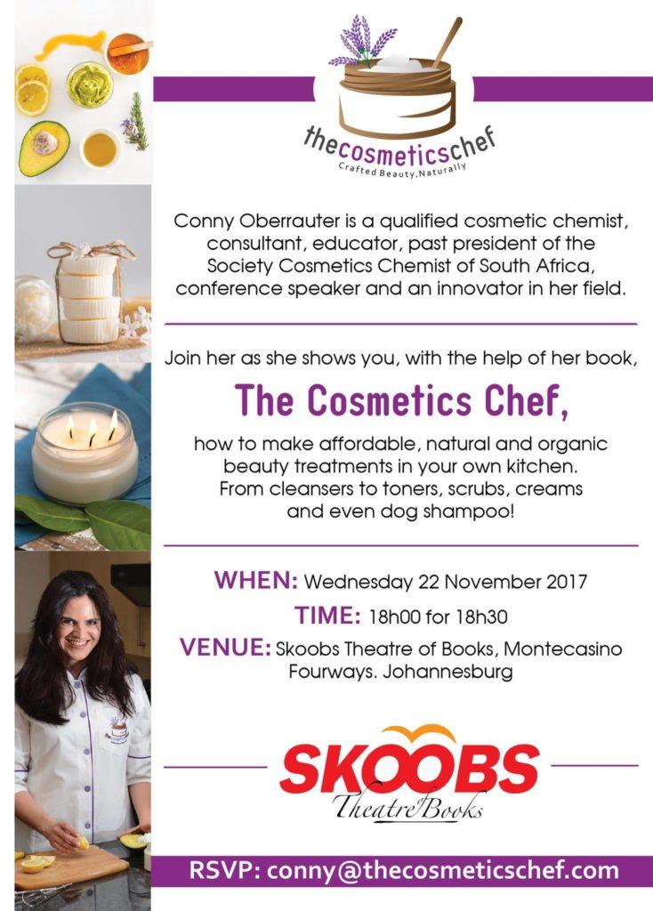 The cosmetics chef