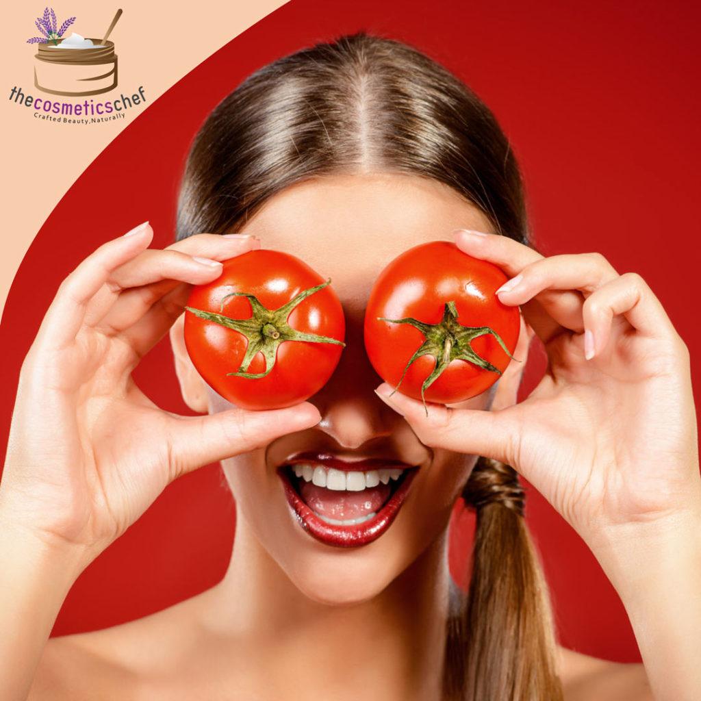 Brightening tomato mask