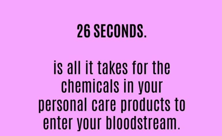 Cosmetics Absorbing Into Blood